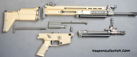 Штурмовая винтовка FN SCAR Mark 16 / Mark 17 — Special Forces Combat Assault Rifle (США — Бельгия)