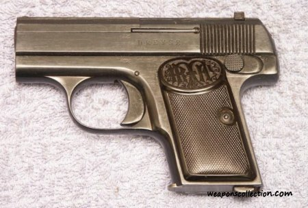 Dreyse 6.35mm Vest Pocket Pistol - жилетный пистолет Дрейзе калибра 6,35 мм