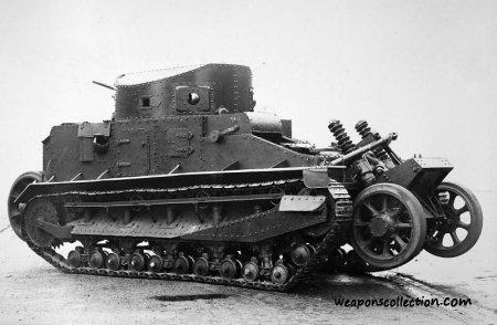 Vickers Medium Tank Mk.I - средний танк
