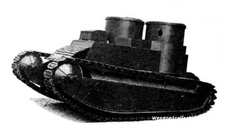 Легкий танк Light Tropical Tank производство Великобритании